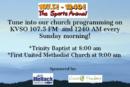 Church Programming on KVSO-FM and KVSO-AM