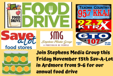 KKAJ/Stephens Media Group Annual Food Drive @ Sav-A-Lot in Ardmore