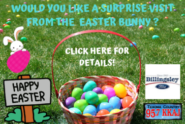 Would You Like a Surprise from the Easter Bunny?