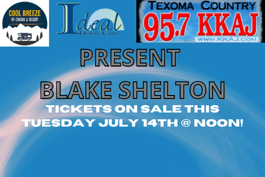 Blake Shelton In Concert!