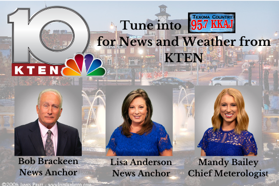 KTEN News and Weather on KKAJ